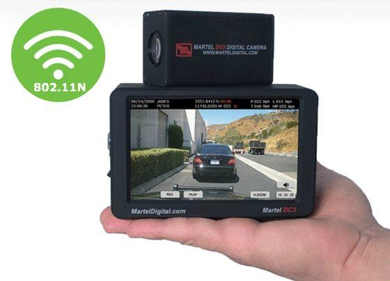 Police Car Camera DC3 Wifi