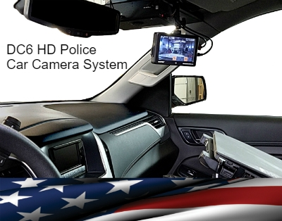 Police Car Camera system manufactured by Martel Electronics for police departments