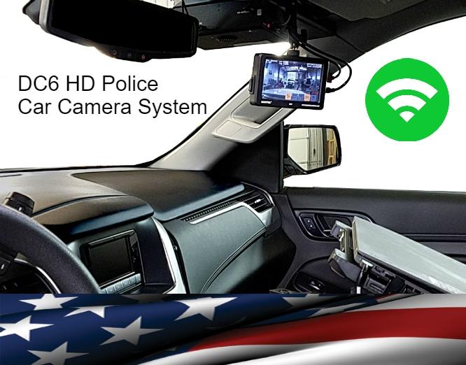 Police Car Camera system DC6