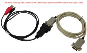 Worlds Only Police Car Camera Radar interfacing cable